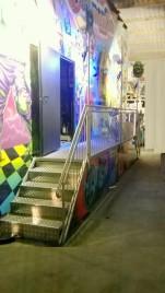 Treppen Kinowagen